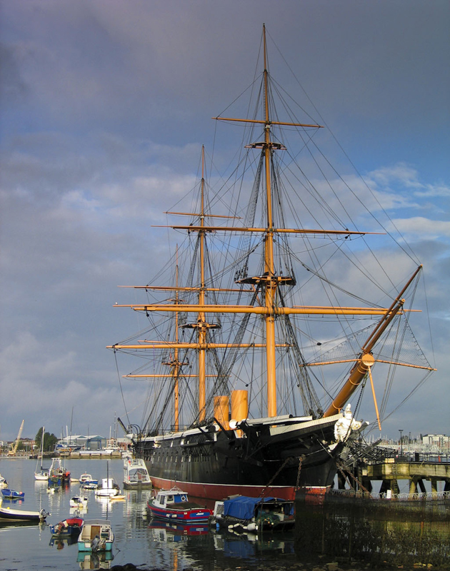 image of HMS Warrior